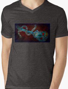 Skull tunes 3 Mens V-Neck T-Shirt