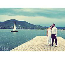 Yacht Club Shoot- Jetty Photographic Print