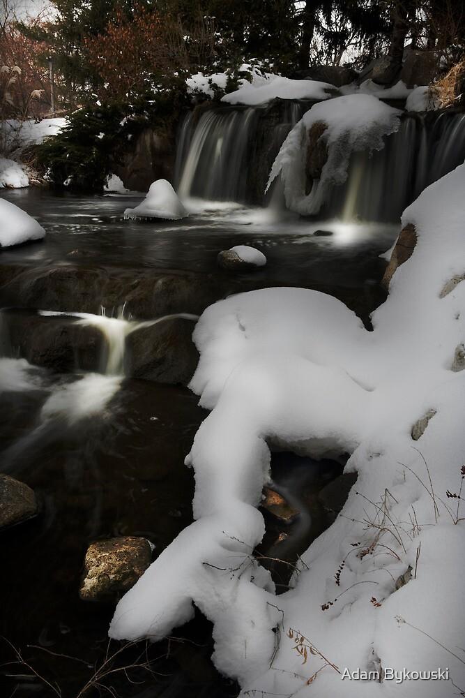 Waterfall Highlights by Adam Bykowski