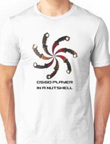 CS:GO - Typical player Unisex T-Shirt