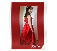 Katie our grandaughter Poster