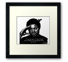Ice Cube Straight Outta Compton Framed Print