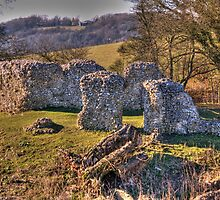 Thurnham Castle by brianfuller75