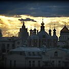 From a Hotel window in Moscow by ToastedGhost