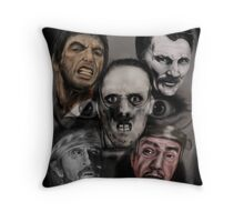 SAY HELLO TO THE BAD GUYS ! Throw Pillow