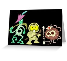 Warriors of Blight Greeting Card
