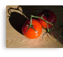 Bright Red Jersey Tomato Canvas Print