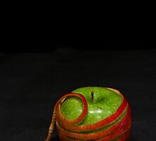 Apple Wrapped in Apple by Sami Wong