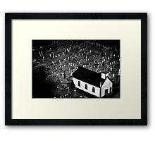 Graveyard - Nova Scotia, Canada Framed Print