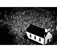 Graveyard - Nova Scotia, Canada Photographic Print