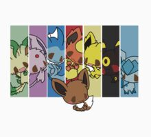 Eevee Evolution by Malachai