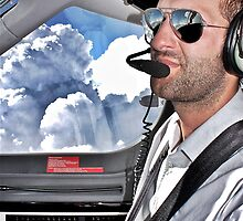 In the cockpit... by Lebogang Manganye