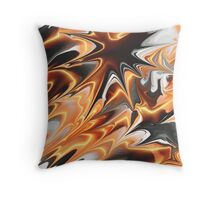Orange And More Throw Pillow