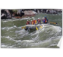 Rafting the Merced River Poster