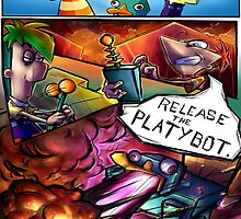 Release the Platybot by coffeepotcat