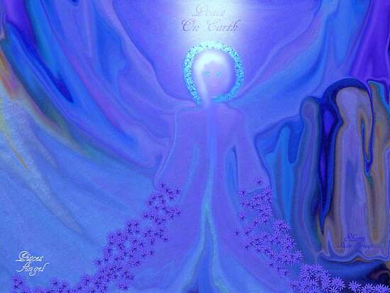 PISCES ANGEL!!      PEACE ON EARTH by Sherri     Nicholas