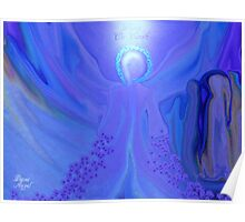 PISCES ANGEL!!      PEACE ON EARTH Poster