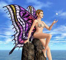 Butterfly Friend by Ace Layton