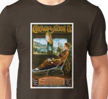 Chicago & Alton Railroad Vintage Travel Poster Unisex T-Shirt