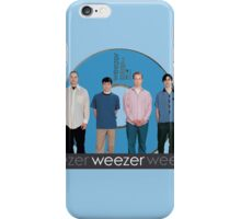 WEEZER - THE BLUE ALBUM. iPhone Case/Skin
