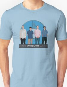 WEEZER - THE BLUE ALBUM. T-Shirt