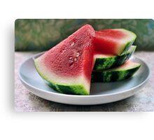 melon.. Canvas Print