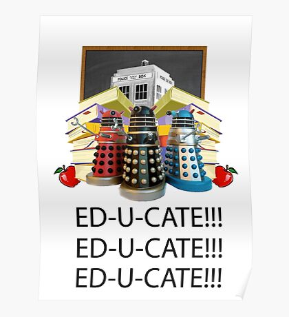 Educate not Exterminate  Poster