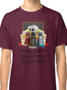 Educate not Exterminate  Classic T-Shirt