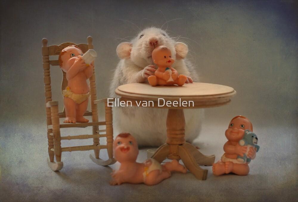 Rosie 's  first day as a real babysitter by Ellen van Deelen