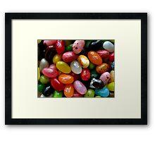 jelly beans.. Framed Print