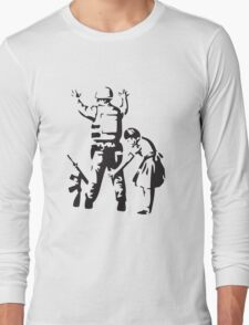 banksy Long Sleeve T-Shirt