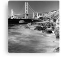 Marshall's Beach, San Francisco Canvas Print