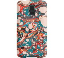 Psychedelic Marbled Paper Blob Samsung Galaxy Case/Skin