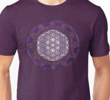 Sacred Geometry: Flower of Life VII - Framed Unisex T-Shirt