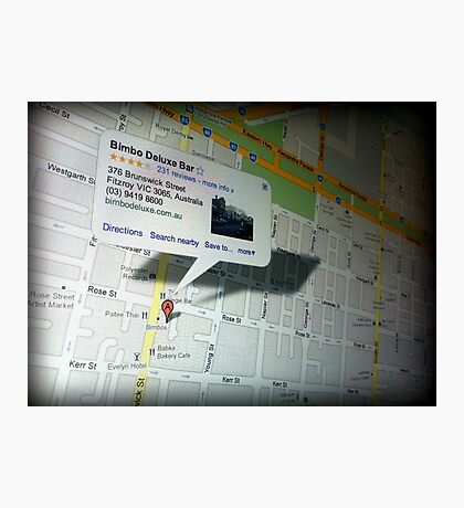 Where to Spend $4 Photographic Print