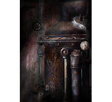 Steampunk - Handling Pressure  Photographic Print