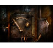 Steampunk - The Control Room  Photographic Print