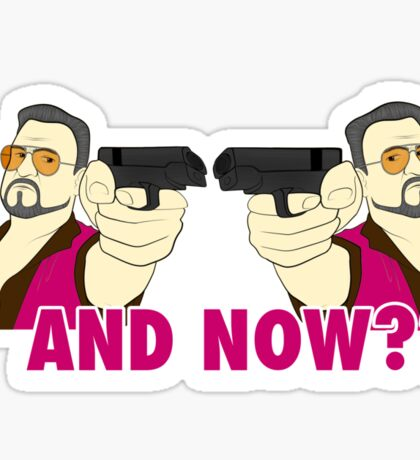 And now? Sticker