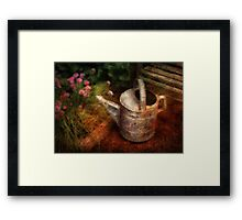 Flowers - Water for my lovelies Framed Print