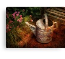 Flowers - Water for my lovelies Canvas Print