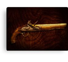 Gun - Flintlock Pistol  Canvas Print