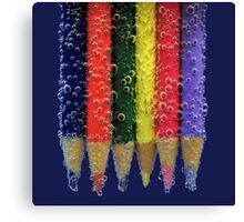 pencil fizz! Canvas Print