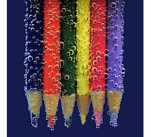 pencil fizz! Photographic Print