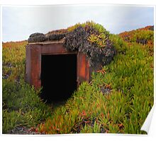 Rusting WWII Bunker Poster
