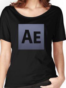 After effects CS5 custom tshirt Women's Relaxed Fit T-Shirt