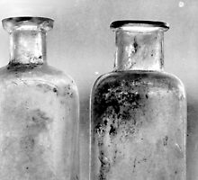 Old Bottles Two by Lisa Cook