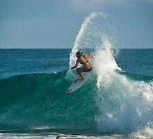 Carissa Moore - pre Roxy surfing by Odille Esmonde-Morgan