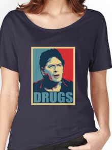 DRUGS Women's Relaxed Fit T-Shirt
