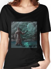 Dark mage searching for a unholy sign Women's Relaxed Fit T-Shirt