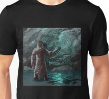 Dark mage searching for a unholy sign Unisex T-Shirt